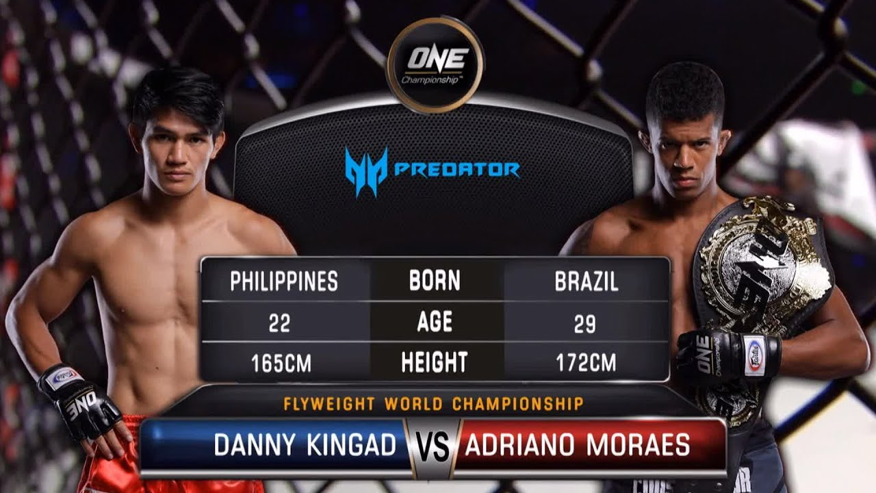 Danny Kingad vs. Adriano Moraes | Full Fight Replay