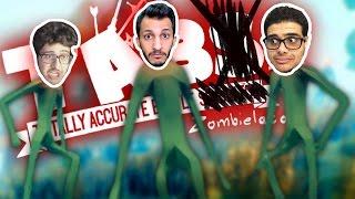 تابز الزومبي مع العيال: مواجهة الوحش العملاق!! TABZ