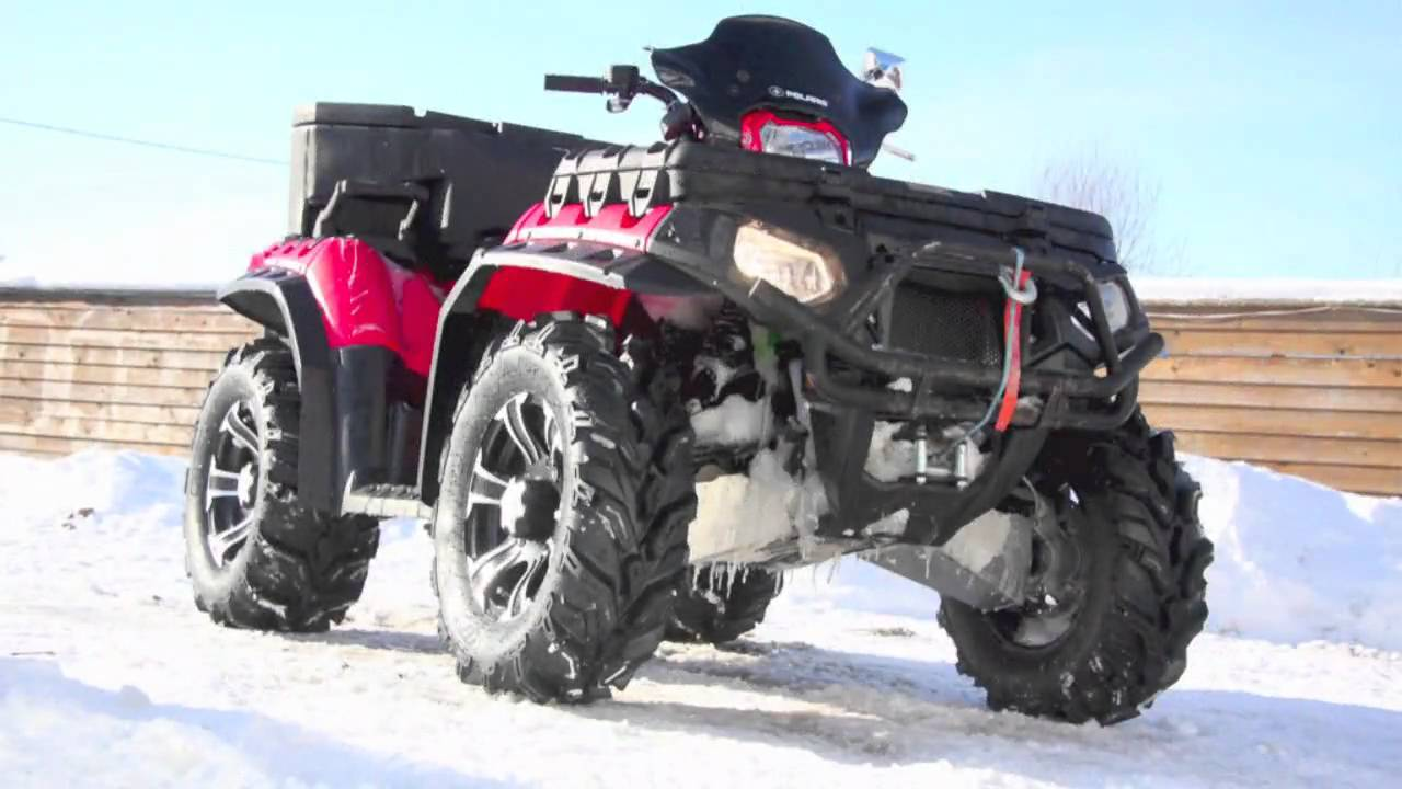 Polaris Scrambler 850 >> ITP XTR Polaris Sportsman 850 Touring - YouTube
