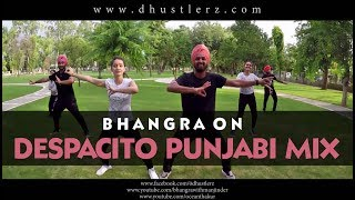 Despacito | bhangra | guru randhawa high rated gabru | gippy grewal feat bohemia car nachdi