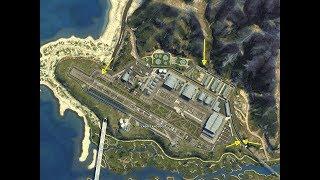 5 formas de entrar en Fort Zancudo/ GTA V / base militar