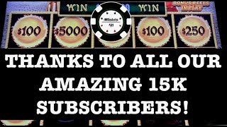⭐️15K SUBSCRIBERS SPECIAL ⭐️(7) HANDPAYS DRAGON LINK ⭐️ THANKS TO ALL ⭐️SLOT MACHINE MOHEGAN SUN