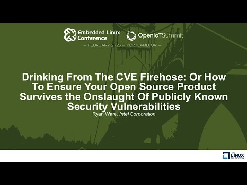 Drinking From The CVE Firehose: Or How To Ensure Your Open Source Product Survives