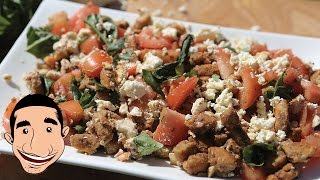 Panzanella Salad Recipe | Crispy Bread And Tomato Salad | Quick Salad