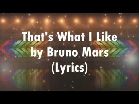 That's What I Like - Bruno Mars [Lyrics]