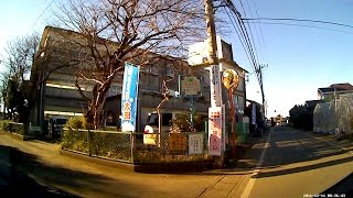 国道51号線→旧夏海小学校、走ります!