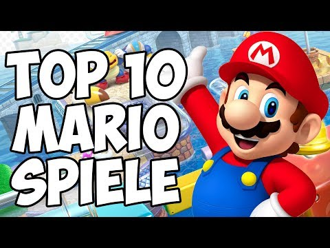 Top 10 Mario Spiele! - RGE