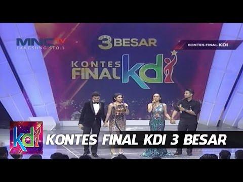 Juju - Mumu VS Juan Rahman - Bianca Liza - Kontes Final KDI 2015 (1/6)