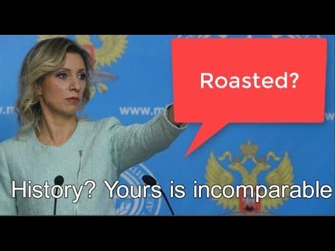 Russian MFA Zakharova gives British Ambassador a history lesson