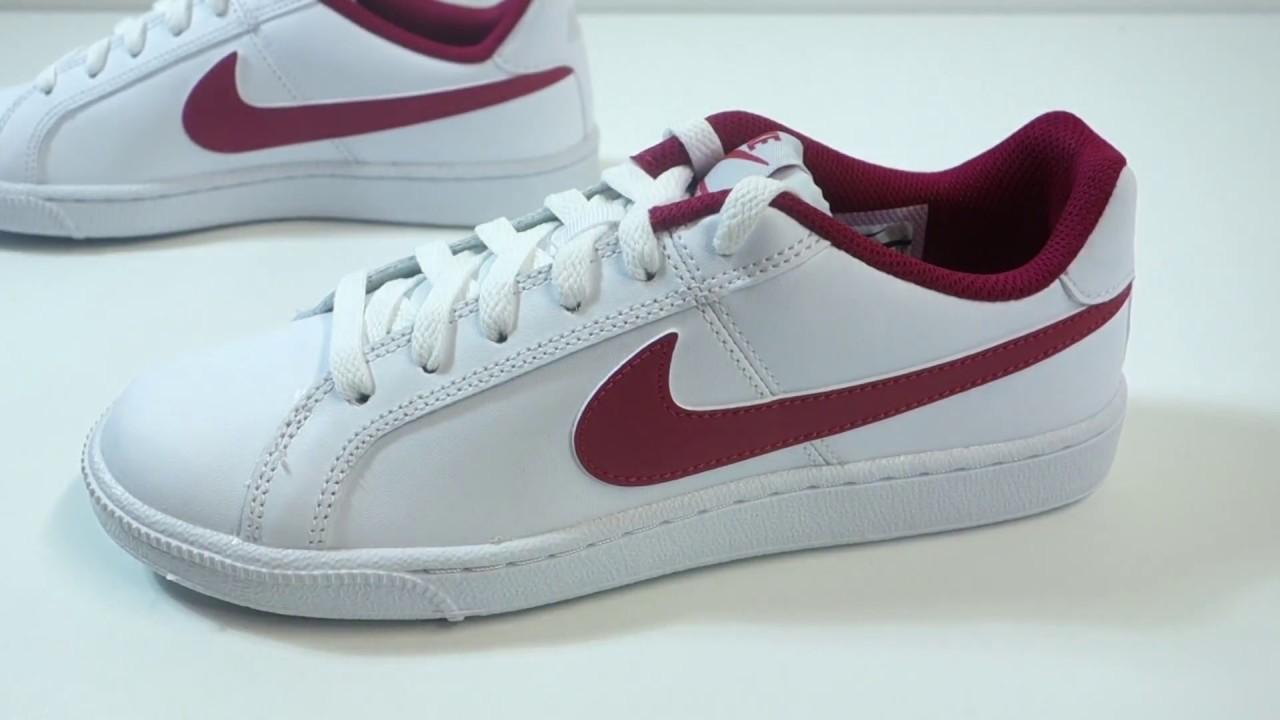 Dámské stylové boty Nike Court Royale - YouTube 9eb3afb731