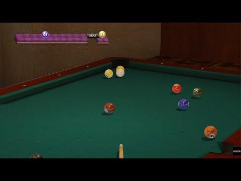 YAKUZA 0 pool game |