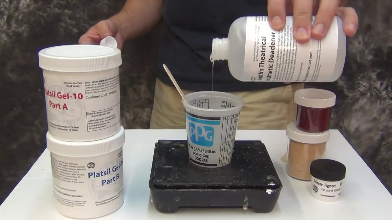 Quick Guide To Platsil Gels For Lifecasting Special Fx And Mold