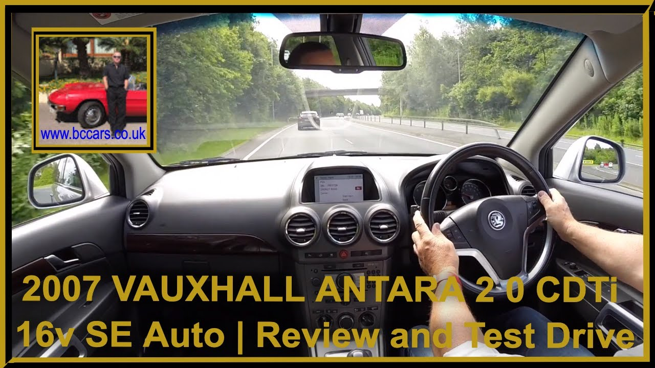 virtual video test drive in our 2007 57 vauxhall antara 2 0 cdti 16v se auto youtube. Black Bedroom Furniture Sets. Home Design Ideas