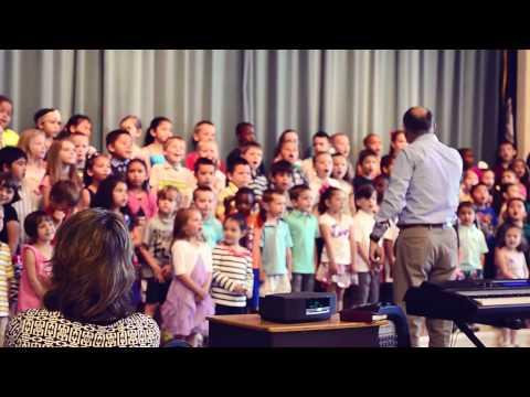 Kindergarten Graduation Performance @Wilderness Elementary School, Spotsy VA