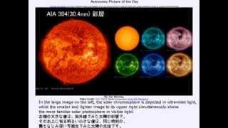 2014年 3月12日 「自転する太陽」-Astronomy Picture of the Day