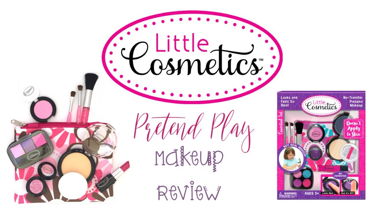 Toddler Makeup Tutorial Little Cosmetics Product Review Youtube