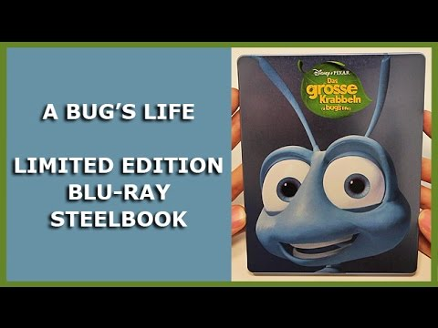A Bug 39 S Life Limited Blu Ray Steelbook Unboxing Das Gro E Krabbeln Youtube