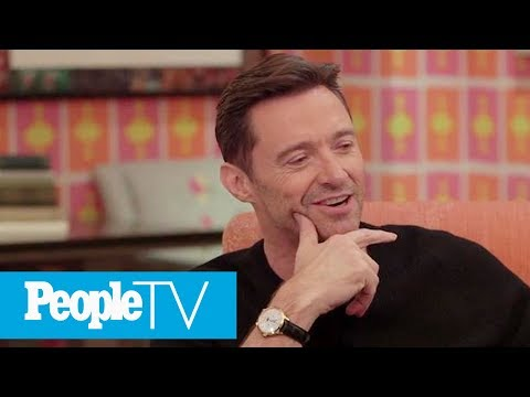 Hugh Jackman Remembers The Day He Met His Wife Deb At His First Job After Drama School | PeopleTV