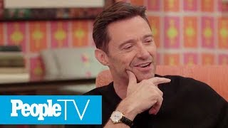 Download Hugh Jackman Remembers The Day He Met His Wife Deb At His First Job After Drama School   PeopleTV Mp3 and Videos