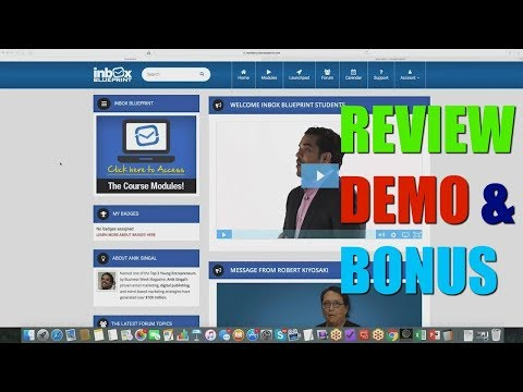 Inbox Blueprint 2018 Review Demo Bonus - 10K a Month in 5 Simple Steps