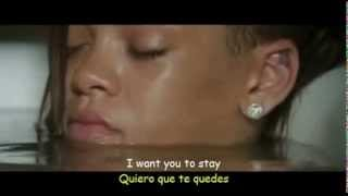 Rihanna Stay ft  Mikky Ekko Sub Español  Official Video