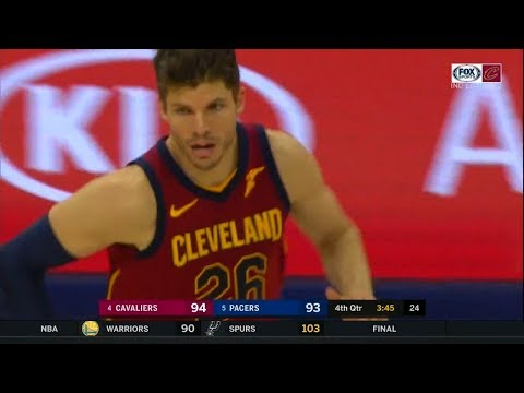Kyle Korver Gets Fired Up in 4th Qtr | Cavs vs Pacers - Game 4 | April 22, 2018 | 2018 NBA Playoffs