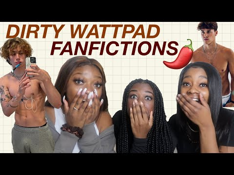 reading SPICY wattpad fanfictions *tiktok boy edition*