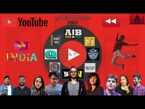Download Youtube: YouTube India Rewind 2017 | Mr IY ft. BB Ki Vines AIB TVF | Indian Youtubers in YouTubeRewind 2017