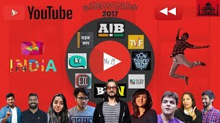connectYoutube - YouTube India Rewind 2017 | Mr IY ft. BB Ki Vines AIB TVF | Indian Youtubers in YouTubeRewind 2017