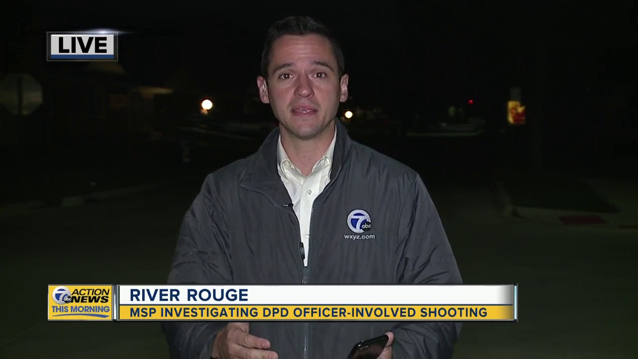 MSP investigating DPD officer-involved shooting in River Rouge