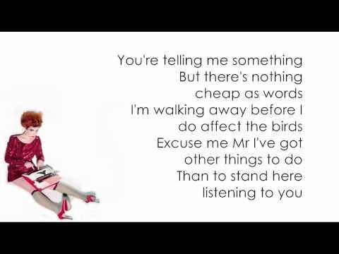 Stone Cold Sober - Karaoke + Lyrics - Paloma Faith
