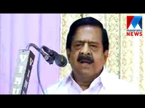 CM Failed To Solve Issues Between Media And Advocates Alleges Chennithala | Manorama News