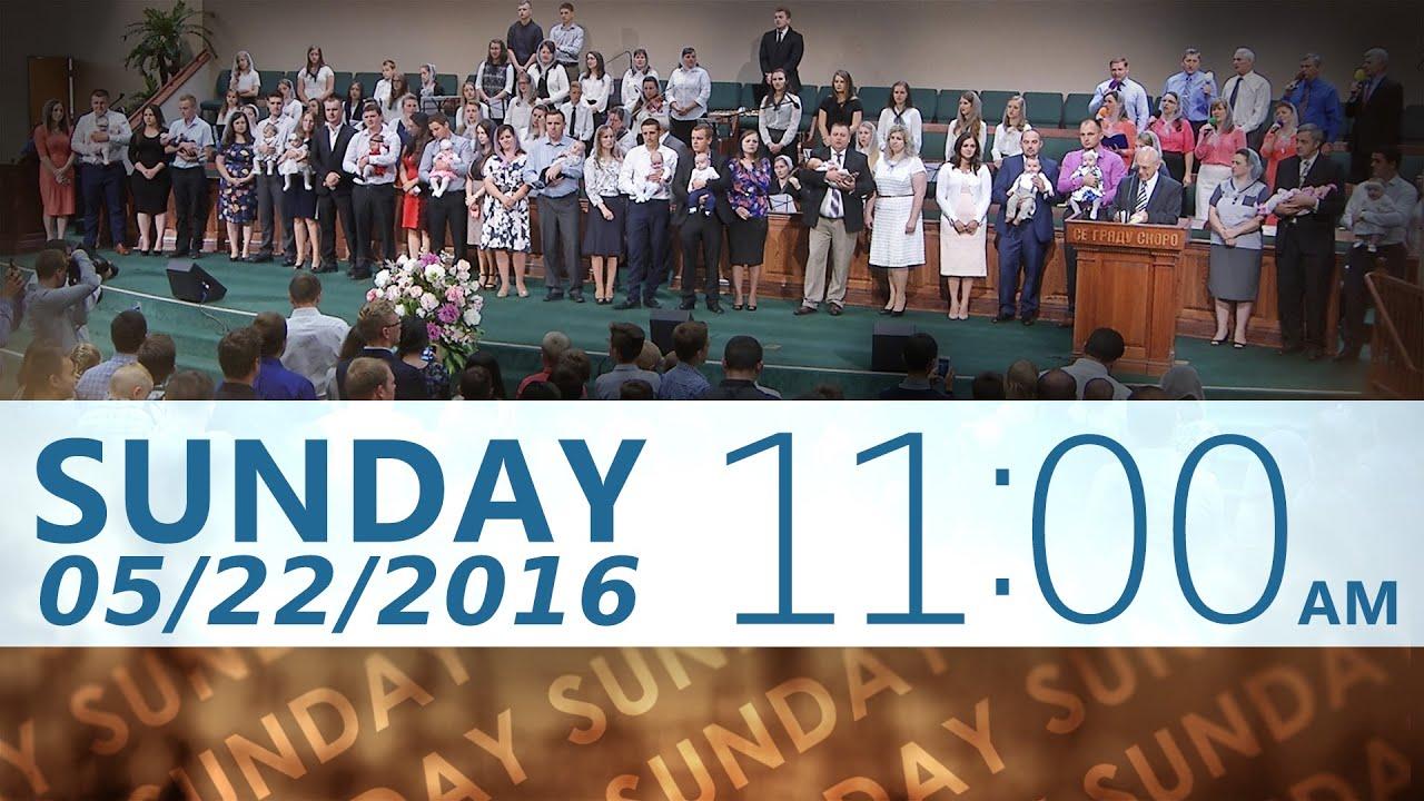 05/22/2016 11am Sunday Service