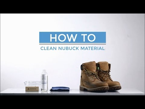 ANDRROWS - How to Clean Nubuck Material