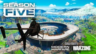 🔴 Welcome To SEASON 5! - WARZONE NEW MAP & GUNS!