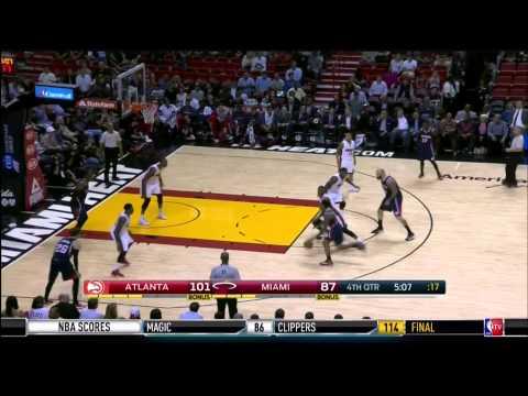 December 03, 2014 - NBATV - Game 18 Miami Heat Vs Atlanta Hawks - Loss (09-09)(NBA Gametime)