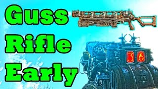 Fallout 4 Gauss Rifle Location Guide EARLY AMMO Rare Secret Weapons