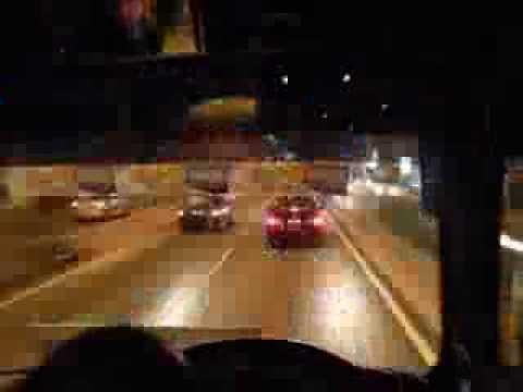Kuala Lumpur to Port Klang, Malaysia - Time lapse bus ride (2008)