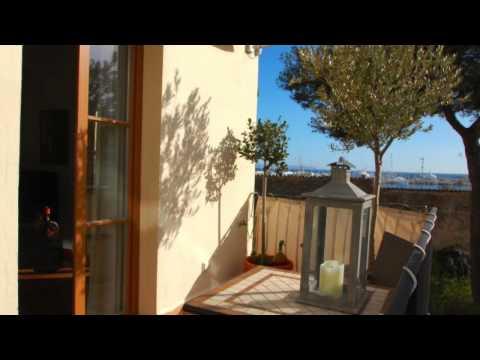 Elegant lägenhet med två terrasser i Santa Catalina, Mallorca