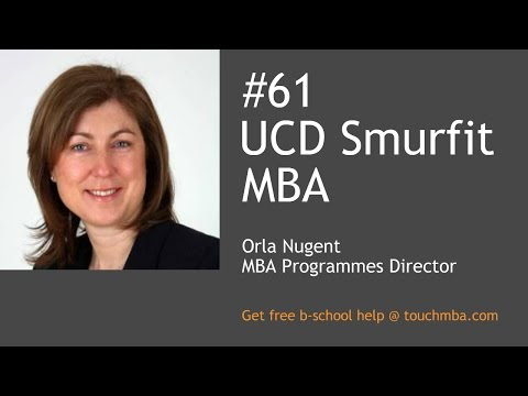 UCD Smurfit MBA Admissions Interview with Orla Nugent - Touch MBA Podcast