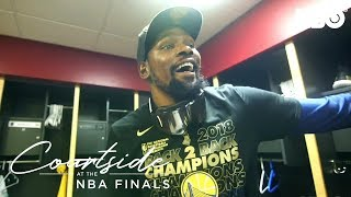 Kevin Durant's Roller Coaster Ride | Courtside at the NBA Finals (2018) | HBO