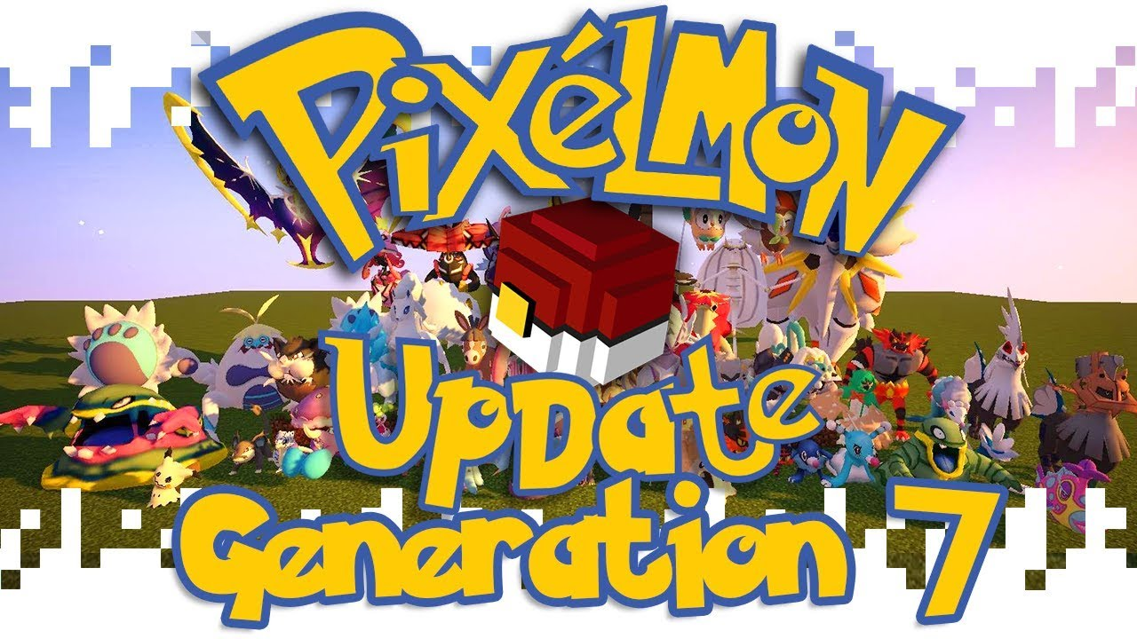 Pixelmon Mod 1 12 2/1 10 2 (Pokemon in Minecraft