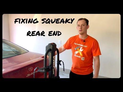 Fixing Annoying Squeaking on 2002 Toyota Camry Solara Sway Bar Bushing Replace
