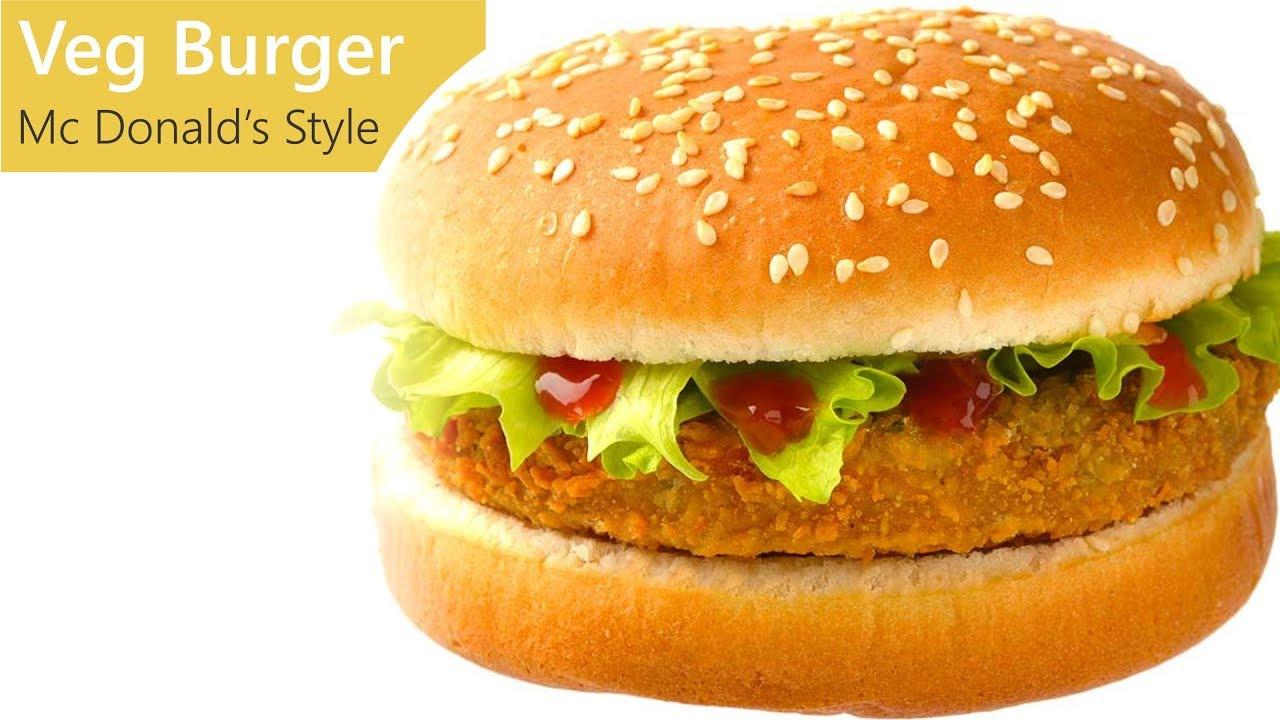 Veg Burger  How to make Veg Burger at Home  15S Kitchen