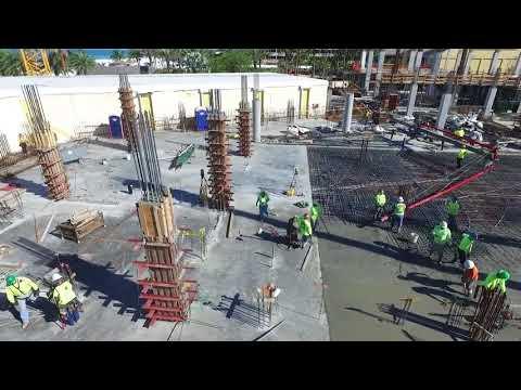 Marco Island Marriott - Lanai Building Construction - 4-19-16