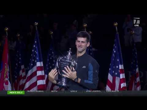 Tennis Channel Live: Novak Djokovic defeats Juan Martin del Potro In 2018 US Open Final