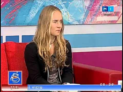 Daniela - Moldova 1 Interview