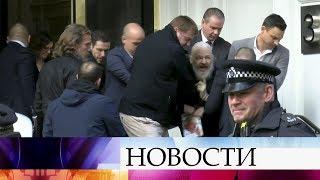 """Основателю """"Викиликс"""" Джулиану Ассанжу отныне грозит 175 лет тюрьмы."""