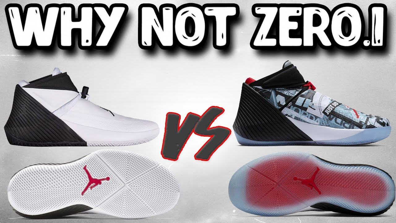 Jordan Westbrook Why Not Zero.1! What s Better  Solid or Translucent  Outsole ! f8d24d5a1