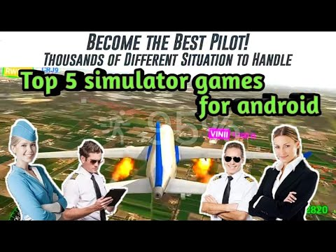Top 5 Simulator Game For Android..🔥🔥 Epic And Super Graphics Game In Mobile 🎮🎮